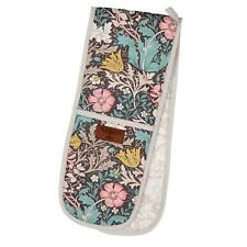 More details for morris & co compton double oven glove - jewel