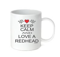 Coffee Cup Mug Travel 11 15 oz Keep Calm And Love A Red Head