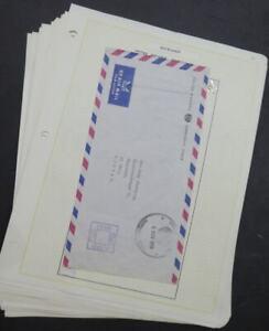 EDW1949SELL : SCANDINAVIA Very nice collection 26 U.N. Military & Emergency Mail