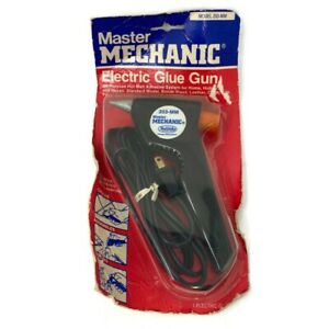 🔴 Vintage Master Mechanic Professional Electric Glue Gun Model 203-MM NEW