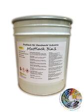 Einschichtlack 3in1 Rostschutzfarbe Containerlack Mattlack in RAL PG1, 25kg
