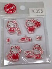 Hello Kitty Clear Stamp Clear Silicon Stamps