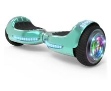 "Flash Wheel 6.5"" Bluetooth Speaker with Led Light Self Balancing Wheel"