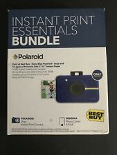 Polaroid Snap Instant Digital Camera Blue with Photo Cubes