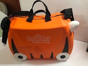 Trunki: The Original Ride-On Suitcase Tipu (Orange)