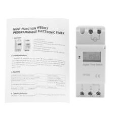 16A Digital LCD Power Timer Programmable Relay Time Switch (AC220V) BH