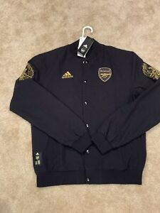 (S) Black Arsenal CNY Phoenix Adidas Anthem Jacket NWT $130