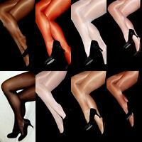 Peavey Gloss Tights Shiny Shimmery Pantyhose A B C D = L Q = XL Hooters Uniform