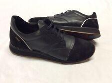Freeman Plat EASY JOGGER BLACK  Men's Leather Boot  SNEAKERS  Size9.5 EUR 42.5