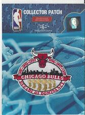 "Cicago Bulls Decade of Dominance Patch 3"" x 2 1/2"" Michael Jordan Sew On"