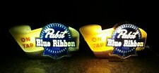 Rare 1940's Pabst Blue Ribbon ON TAP Lighted Register Toppers