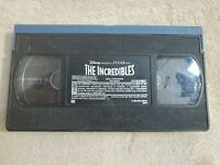 Disney Vhs Tape  (THE INCREDIBLES)- NO CASE -  CONDITION USED