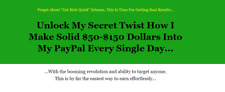 ($50 PAYPAL MAGIC) Secret Shows $50 - $100 Days with EASY No Cost Traffic