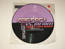 "FACTOR E VS INFINITI move this bass 12"" RECORD PICTURE DISC"