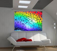 Rainbow Gel giant 3d photo wall poster art qa134