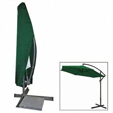 Schutzhülle Abdeckhaube für Gartenschirm Sonnenschirm Ampelschirm Grün GZ1163