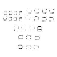 Carson x-18 kugelgelenkset - 500405185