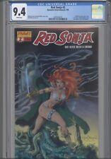 Red Sonja #2 CGC 9.4  2005 Dynamite Comic: Mel Rubi Covers 1 of 4 :New Frame