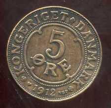 DANEMARK   5 ore 1912