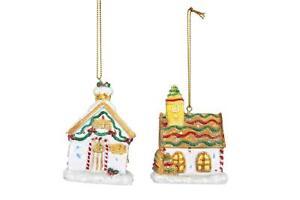 Resin Gingerbread House Christmas Decoration Gisela Graham