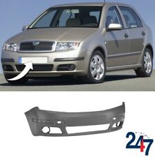 NEW SKODA FABIA 2005 - 2007 FRONT BUMPER WITHOUT HEADLIGHT WASHER HOLES