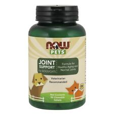 Now Foods Pet Joint Support 90 Lozenge Made in USA FREE SHIPPING
