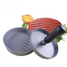 Aluminum Burger Press Hamburger Maker Non Stick Patty Mold Ideal for BBQ New
