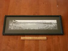 1911 Chicago West Side Park 2 Foot Panoramic Baseball Postcard Chicago Cubs RARE