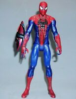 "Marvel Spiderman Hasbro 2012 10"" Tall Talking Action Figure no web missile"