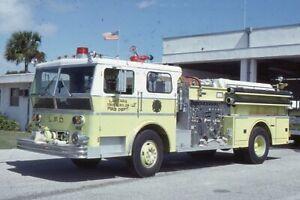 Lantana FL 1975 Ward LaFrance Pumper - Fire Apparatus Slide