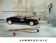 Citroen ID19 Commerciale French market sales Brochure 1961