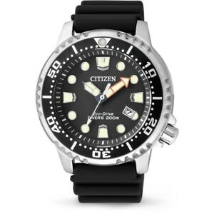 Citizen Promaster Diver Men's Eco Drive Watch - BN0150-10E NEW