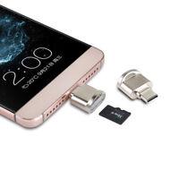Mini Type-C Micro SD TF Memory Card Reader OTG Adapter USB 3.1 Portable Adapter