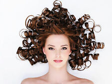 """Poster 24"""" x 16"""" Curly Hairstyle"""