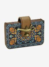 New Disney Aladdin Magic Carpet Genie Bottle Card Holder Fan Wallet