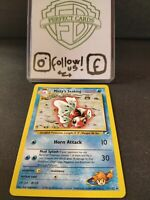 POKÉMON GYM HEROES UNLIMITED MISTY'S SEAKING UNCOMMON 55/132 NM
