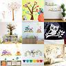 Removable Animal Owl Wall Sticker Kids Decal Nursery Baby Room Tree Murals