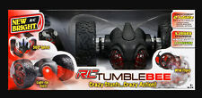 New Bright RC 2.4 GHz Radio STUNT TumbleBEE Vehicle Bee Spins Flips Jumps LIGHTS