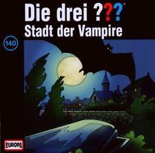 CD * DIE DREI ??? (FRAGEZEICHEN) - 140 - STADT DER VAMPIRE # NEU OVP =