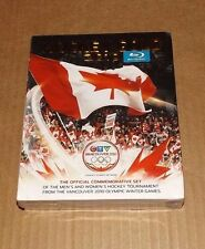 new HOCKEY GOLD 2010 blu-ray box set (5 dvd) Team Canada Olympics men's women's