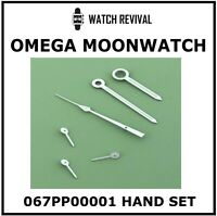 HIGH QUALITY GENERIC WHITE HAND SET FOR OMEGA SPEEDMASTER MOONWATCH CAL. 861