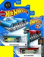Hot Wheels - Lot of 2  - MATTEL DREAM MOBILE - Red & Blue - H7