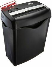 Office Shredder Paper Destroy Crosscut Heavy-duty Cd Dvd Credit Card