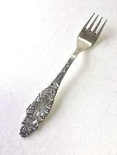 Unusual Vintage Snow White Silverplate Agent F A Bore Lavin Sweden Child's Fork