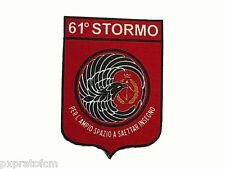 Patch 61°Stormo New Aeronautica Militare Italiana Toppa Stampata Scuola di Volo