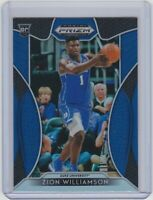 2019-20 Panini Prizm Draft  - ZION WILLIAMSON - BLUE PRIZM / RC - #64 - PELICANS