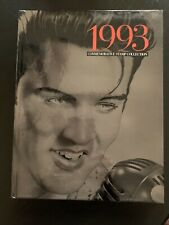1993 USPS Commemorative Stamp Collection Book, MINT Stamps, featuring Elvis.