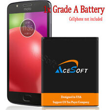 AceSoft 4970mAh Backup Displaceable Battery for Motorola Moto G5 Xt1676 Phone