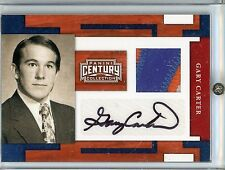 Gary Carter HOF 2010 Panini Century Collection Autograph Jersey Patch