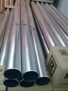 Fallrohr / rund / 2m lang 120 - 100 - 87 - 80 - 76 - 60 mm aus Titanzink